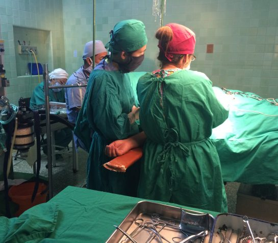 Surgical Rotation in Cuba