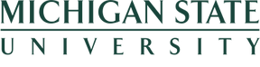 Michigan State University Wordmark